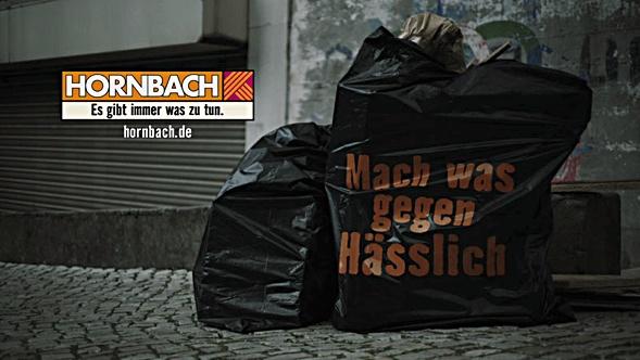 Hornbach Kampagne, Mach was gegen Hässlich der Heimat Agentur