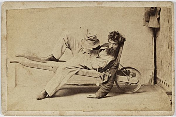 Charles Percy Pickering (1825-1908). Stage 4 of inebriation.