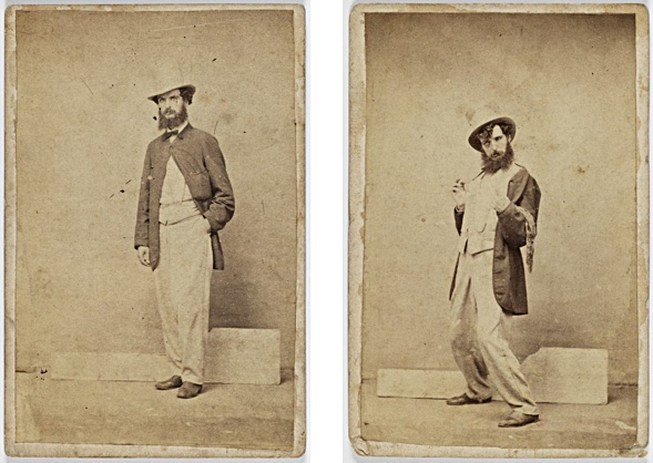Charles Percy Pickering (1825-1908). stages 1 and 2 of inebriation.