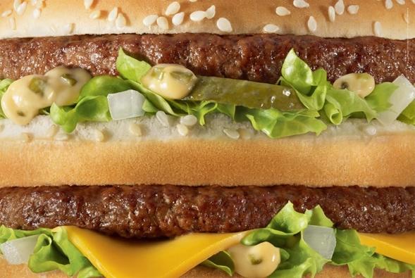 Extreme Nahaufnahmen. McDonald's Anzeigen von TBWA Paris.