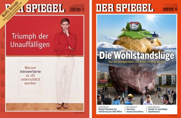 German news magazine der spiegel gets a spring cleaning for Magazin der spiegel