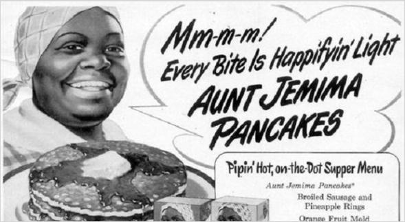 Aunt Jemima Werbung. Quelle: https://blackamericaweb.com
