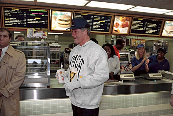 Even this guy (Bill Clinton) is a vegan now. (AP Photo:Greg Gibson)