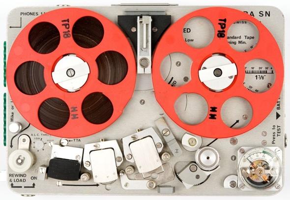 Nagra SN:SNST subminiature tape recorder