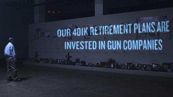 Unsere Rentenlbeiträge werden in die Waffenidustrie investiert