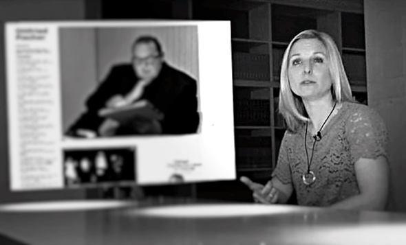 BUNTE.de-Redakteurin Luise Wackerl in ihrer Seitenblick Sendung