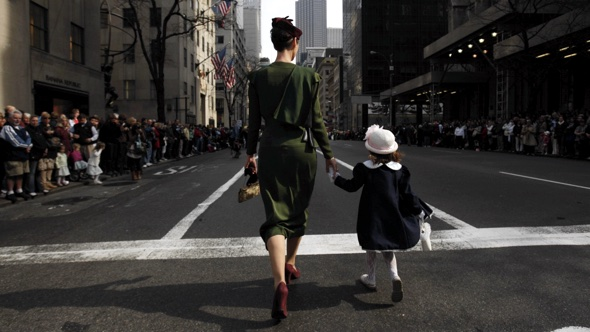Learning from a young age.(Reuters:Jessica Rinaldi)