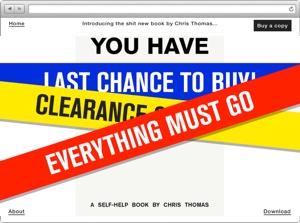 Chris Thomas Buchseite