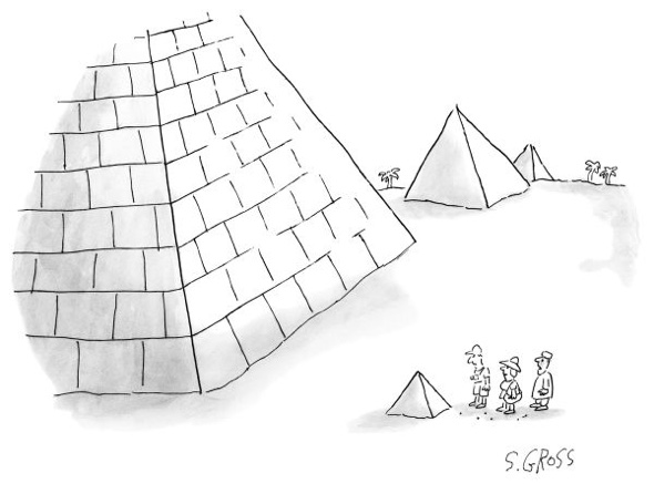 The New Yorker Cartoon by S. Gross