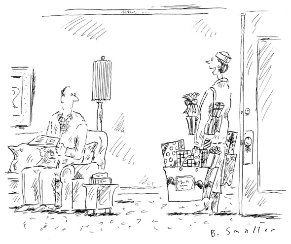 Surprise ©B. Smaller, The New Yorker