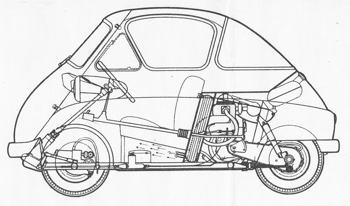BMW Isetta via thebigbook.co.uk