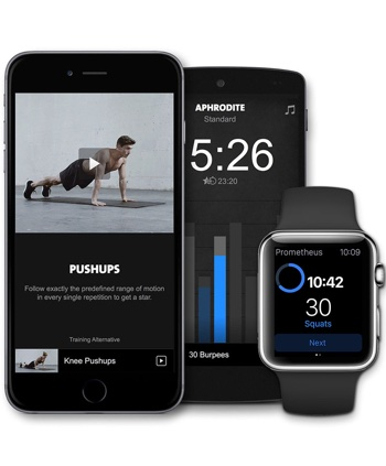 Freeletics mobile Anwendung