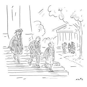 Illustration von WARP Daily Cartoon, The New Yorker
