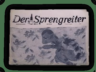 Der Sprengreiter No.4<br />Der Friede<br />von Michaela Melián.