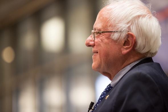 Runner-up Senator Bernie Sanders, Iowa 2015