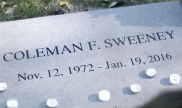 Ich wollte Ihnen Coleman F. Sweeney vorstellen, der Welt größtes Arschloch, dann aber geschah das unfassbare das Arschloch verstarb urplötzlich…
