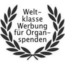 Weltklasse Werbung für Organspenden