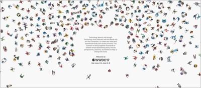 Geoff McFetridge, Apple WWDC17
