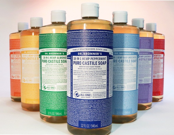 Dr. Bronner's is taking over soap dishes across America.