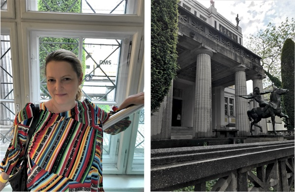 Petra Hammerstein auf Besuch beim Blogger Market in der Münchner Stuck Villa