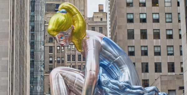 Seated Ballerina 2017 © jeff koons : photo by tom powel imaging