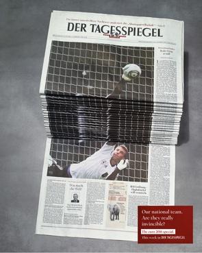 Tagesspiegel Anzeige Fußball-Europa-Meisterschaft