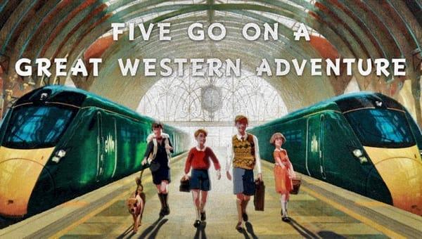 Fünf Freunde auf Great Western Abenteuer