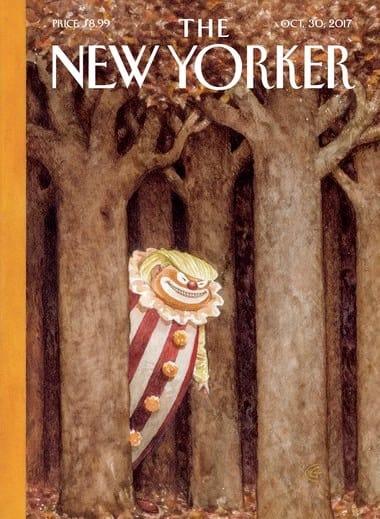 30. Oktober Titel des New Yorker Magazins