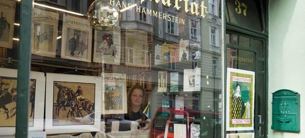 Antiquariat Hans Hammerstein. Foto: Brigitte Tacke