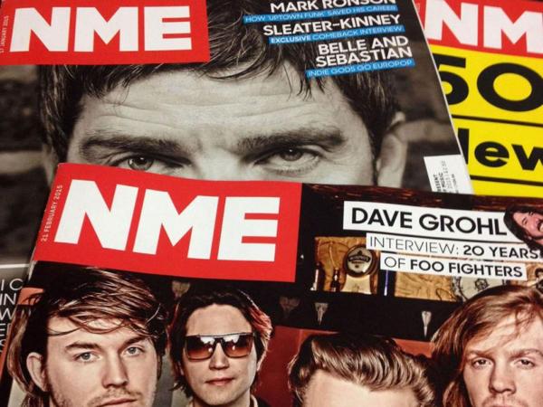 Aus für die Druckausgabe von NME (Bild: Rex Features)