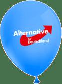 """99 Lufballons """"Alles für Deutschland"""""""
