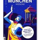 Malika Favre's Titel für @weltkunstmagazin Inspiriert von dem Franz von Stuck Gemälde von Salome.