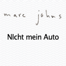 Marc Johns Zeichnung im Original. Tinte & Wasserfarbe auf Aquarellpapier, 18 x 23 cm.