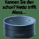 Galgenhumor für Netto-Online.de zur Versöhnung von Mensch und Maschine.