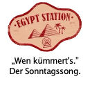 Großer Jubel und ein Septemberlächeln auf allen Gesichtern, wie Paul's Egypt Station bei Nummer 1 eintrifft.