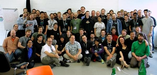 Hackathon-Teilnehmer von Tobias Schumann.CC BY-SA 3.0 de