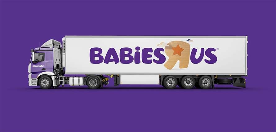 Babies-R-Us-Lastwagen