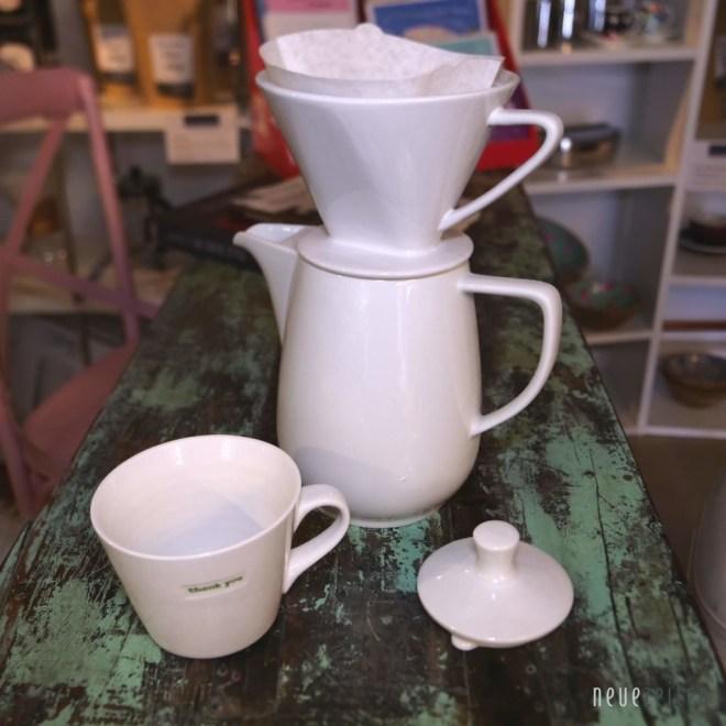 Produktbild cilii Keramik Kaffeefilter weiß Ambiente