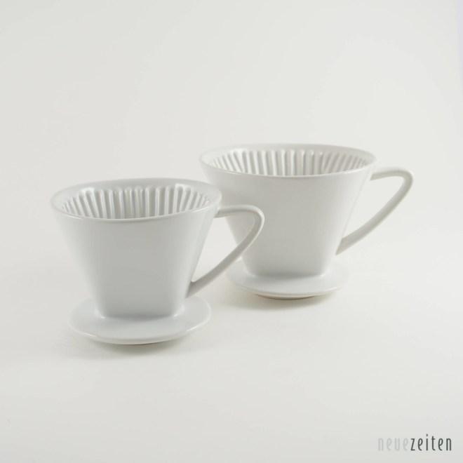 Produktbild cilii Keramik Kaffeefilter weiß Größe 2 und 4