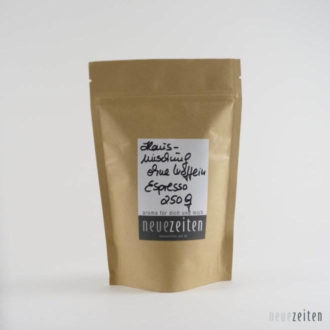 Produktbild Hausmischung entkoffeiniert Espresso