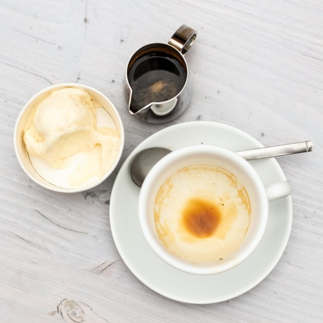 Affogato al Caffè - lecker war es