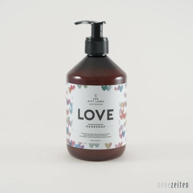 Produktbild - the Gift Label - Flüssigseife - Love