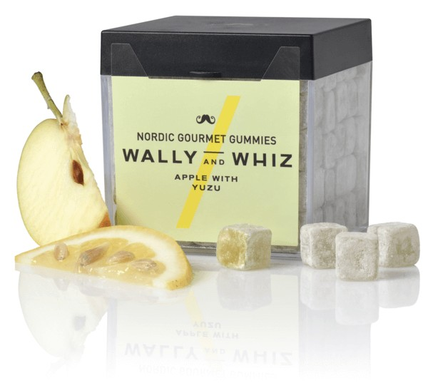 Produktbild - Weingummi - Wally and Whiz - Apfel mit Yuzu