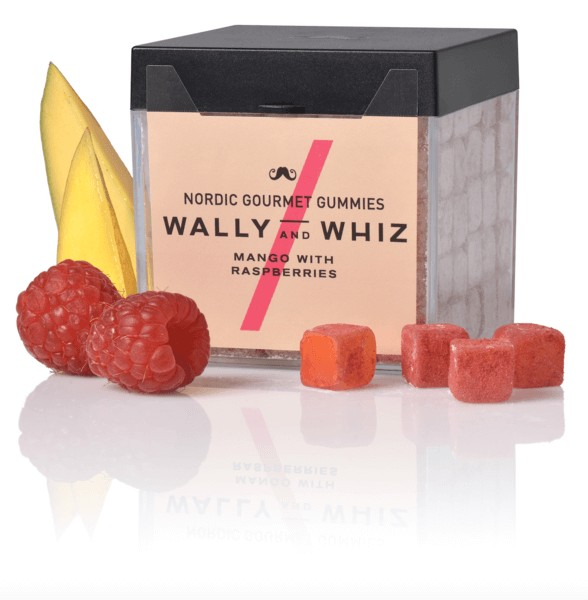 Produktbild - Weingummi - Wally and Whiz - Mango mit Himbeere