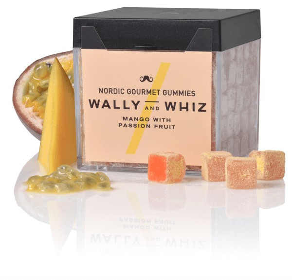 Produktbild - Weingummi - Wally and Whiz - Mango mit Maracuja
