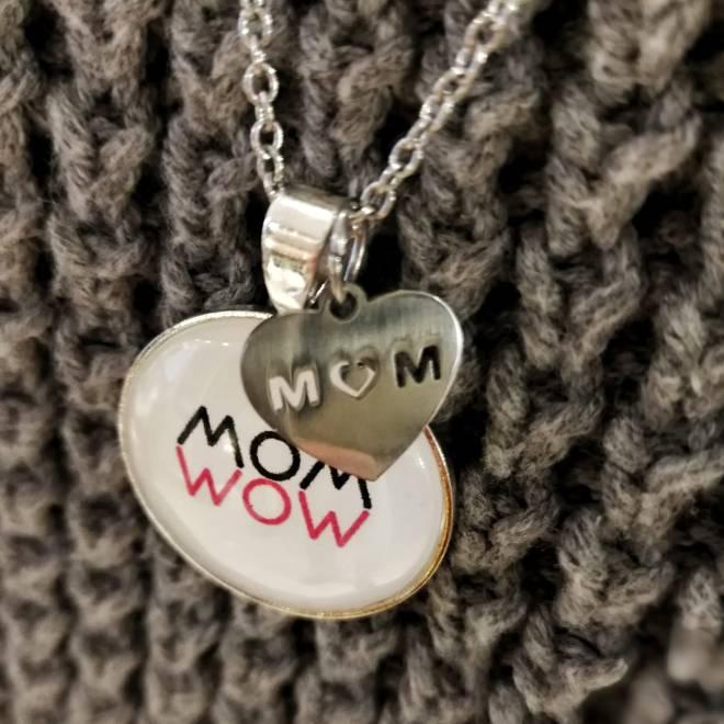 Spruchkette MOM-WOW Detail