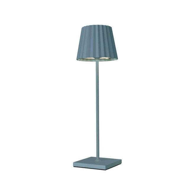 Sompex Troll LED Gartentischleuchte blau