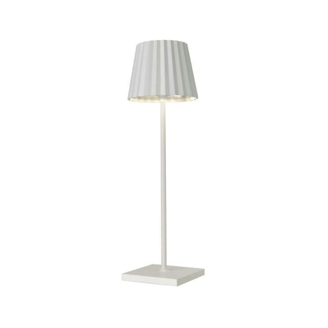 Sompex Troll LED Gartentischleuchte weiß