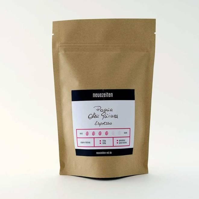 Espresso-Papa-neu-Guinea
