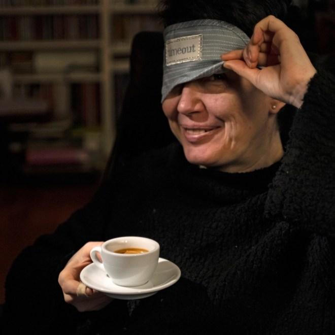 Zum Glueck kann ich nach einer Tasse Espresso schlafen